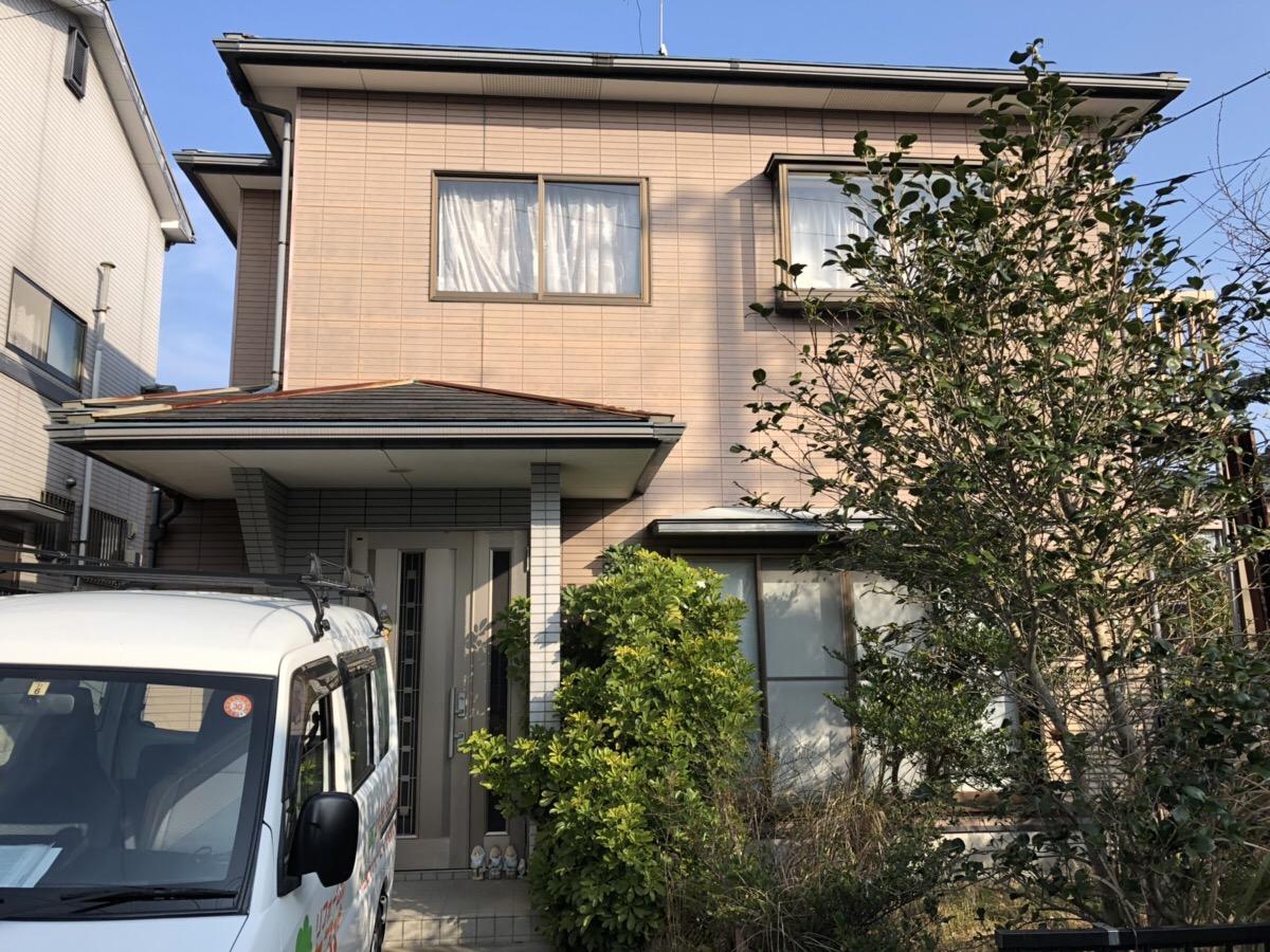 時津町 U様邸 屋根・外壁塗装工事