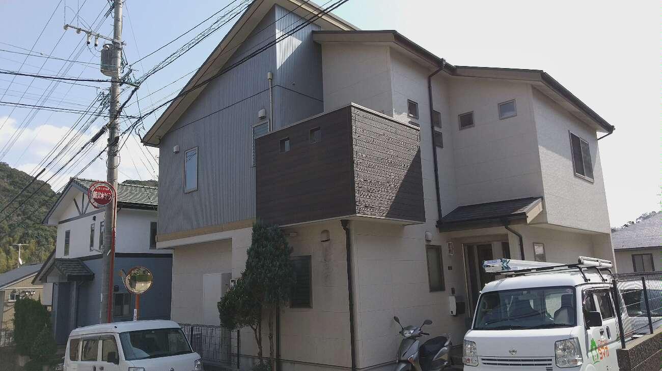 時津町 T様邸 屋根・外壁塗装工事