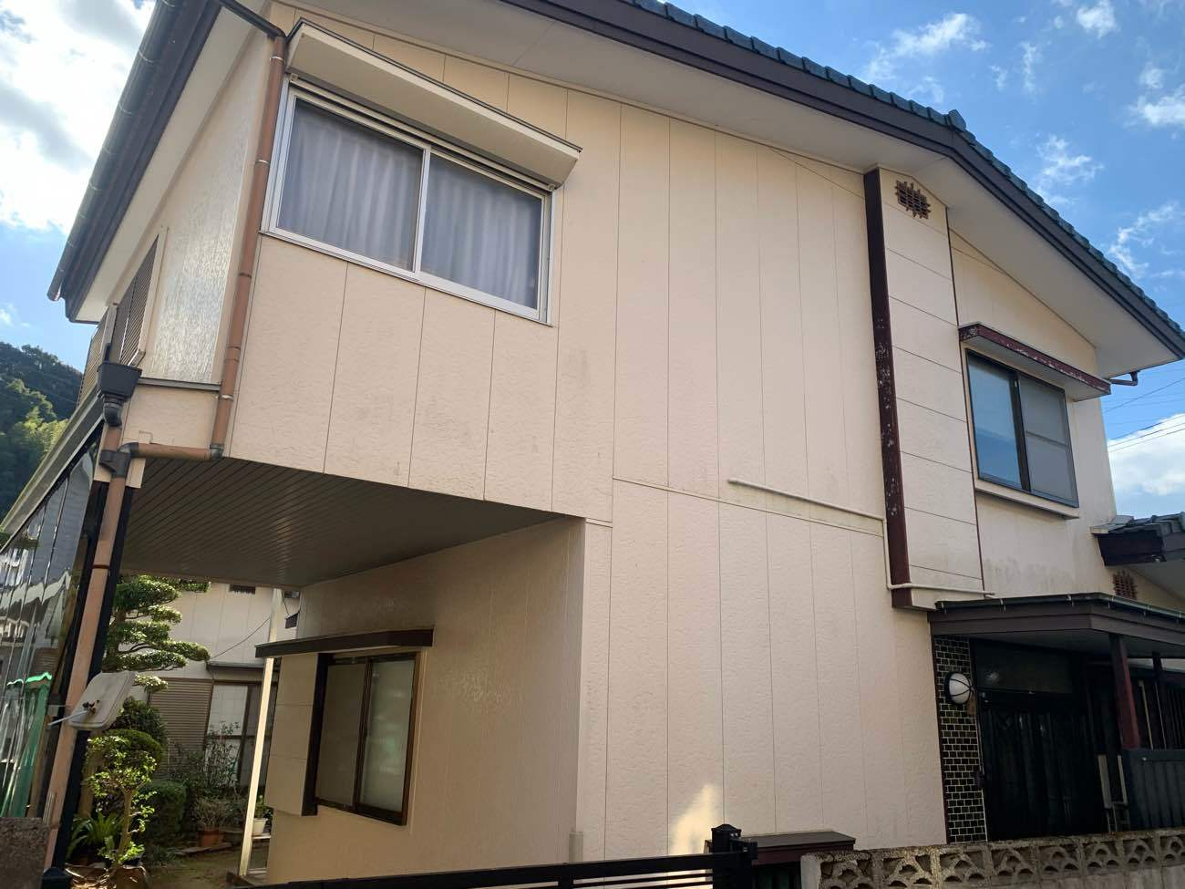長崎市 N様邸 外壁塗装