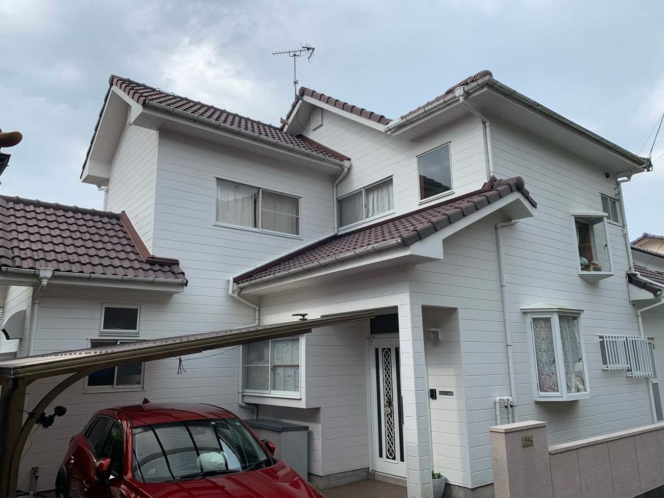 長崎市 H様邸 外壁塗装
